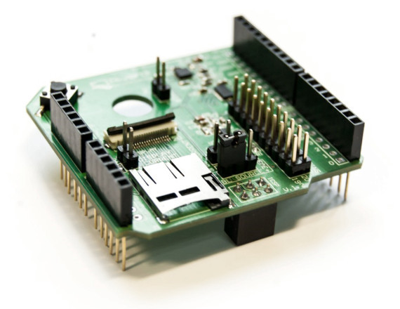 RIVERDI TFT SHIELD FOR ARDUINO -  shield to expand Arduino capabilities