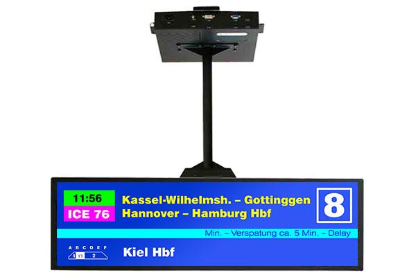 SSC3825-E - Industrial monitor from Litemax Co. (38.0 inches, 1920x502, LED inverter, a MVA screen)