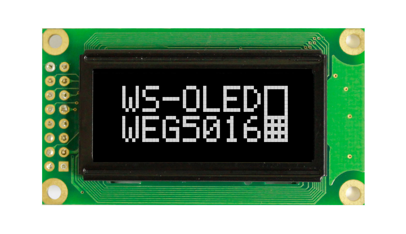 WEG005016AWPP5N00000 - Winstar Longlife OLED graphic display module (white, 50x16, COB - Chip on Board)
