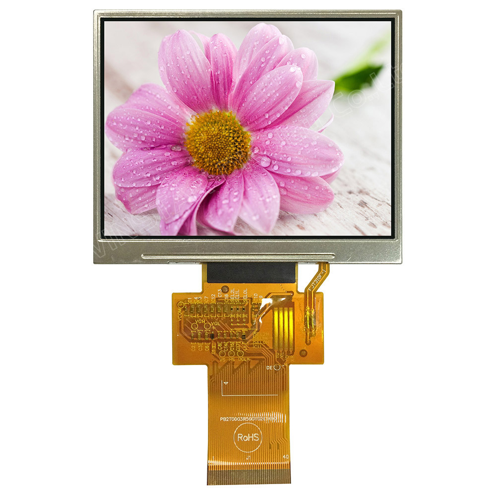 WF35YTIACDNN0# - LCD-TFT display from Winstar Co. (3.5 inches, 320x240, no controller)