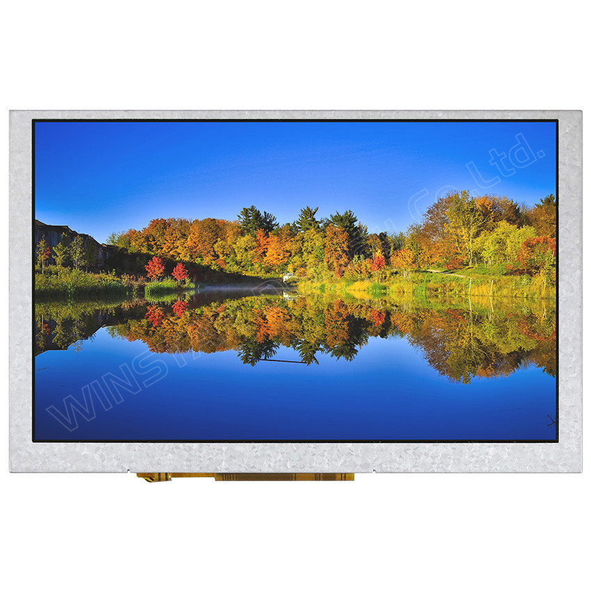 WF50QTIFGDBNY# - LCD-TFT display from Winstar Co. (5.0 inches, 800x480, SSD1963 controller)