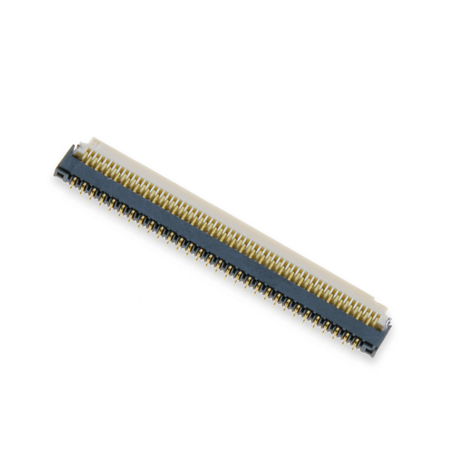 ZIF0361DH – ZIF connector, 0.3 mm pitch, 61 pins, downside contact