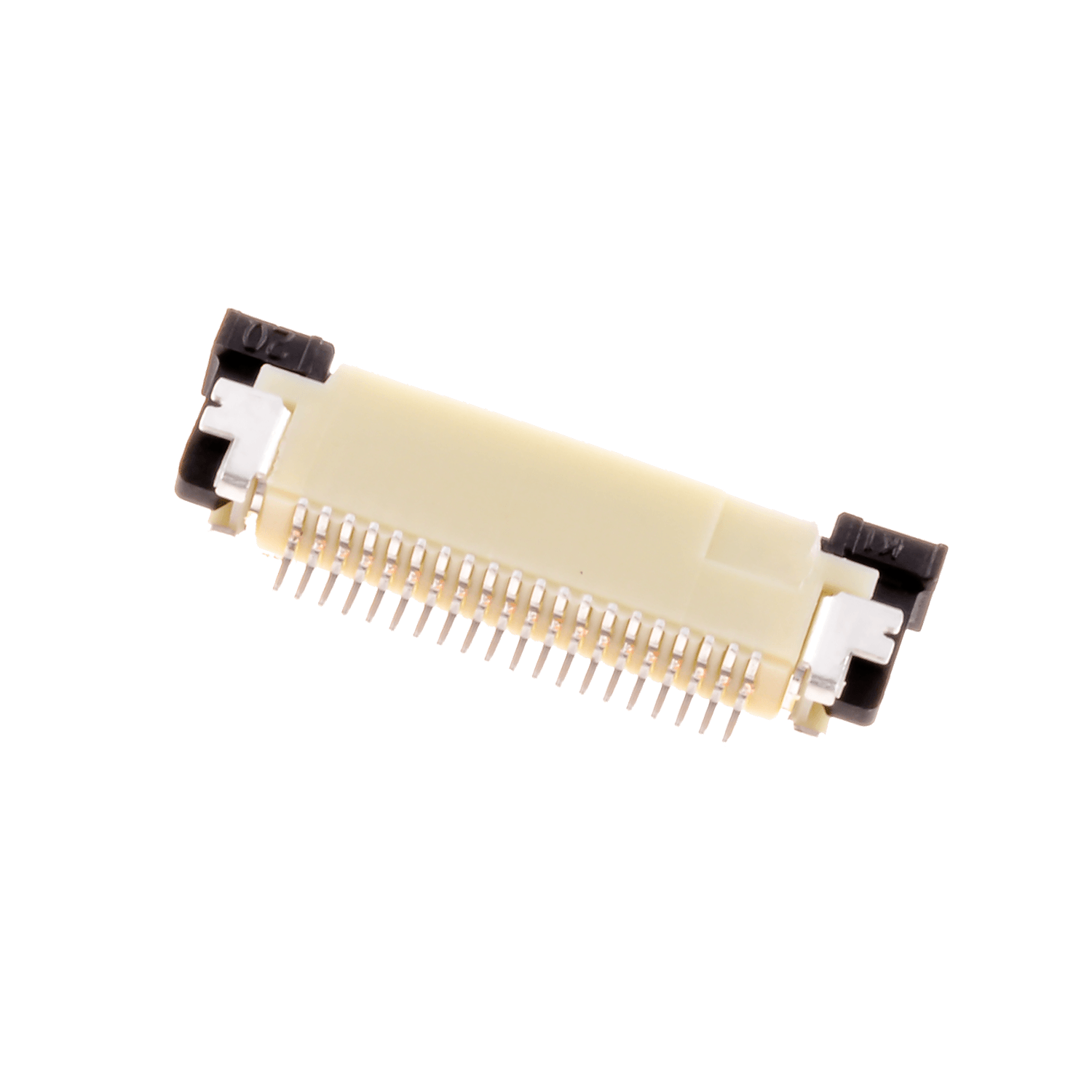 ZIF0520UH – ZIF connector, 0.5 mm pitch, 20 pins, upside contact