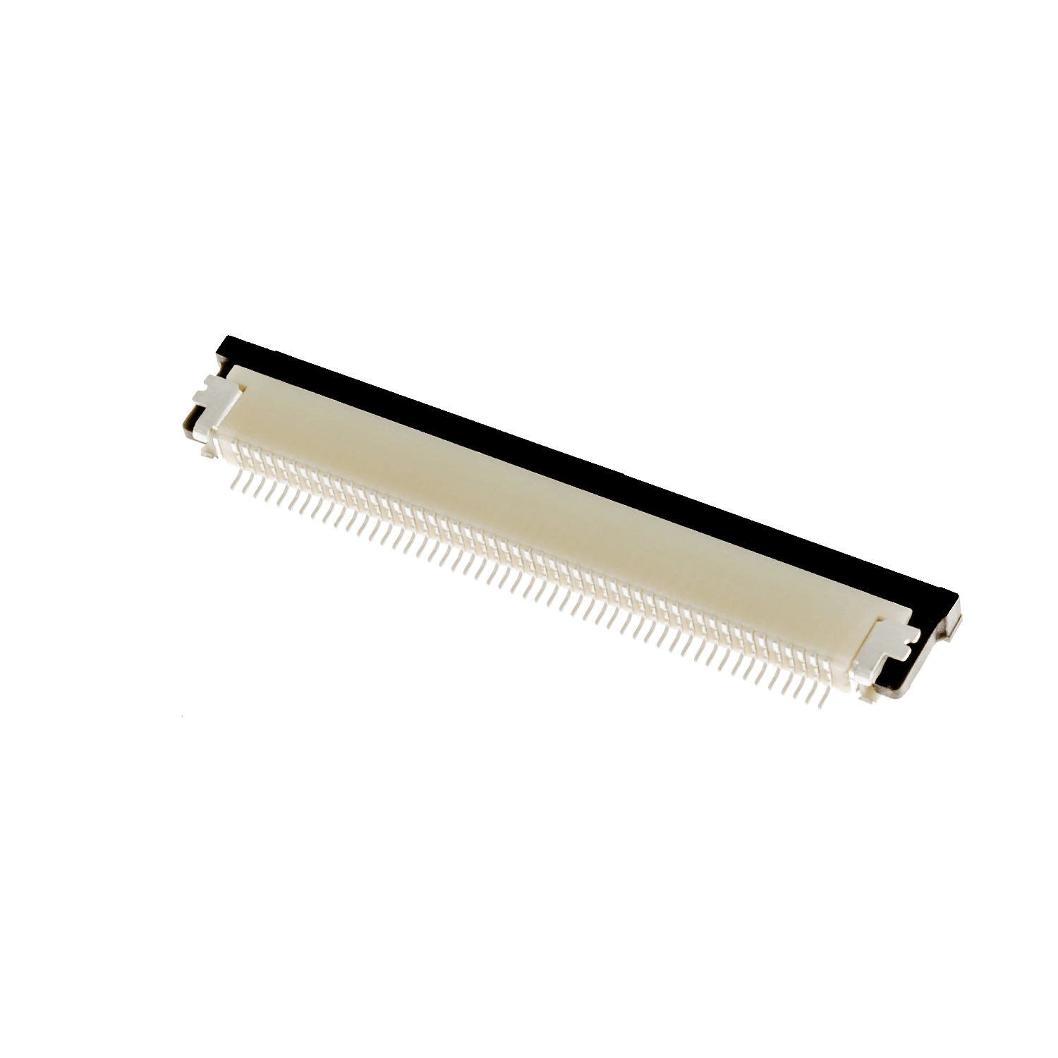 ZIF0550DH – ZIF connector, 0.5 mm pitch, 50 pins, downside contact