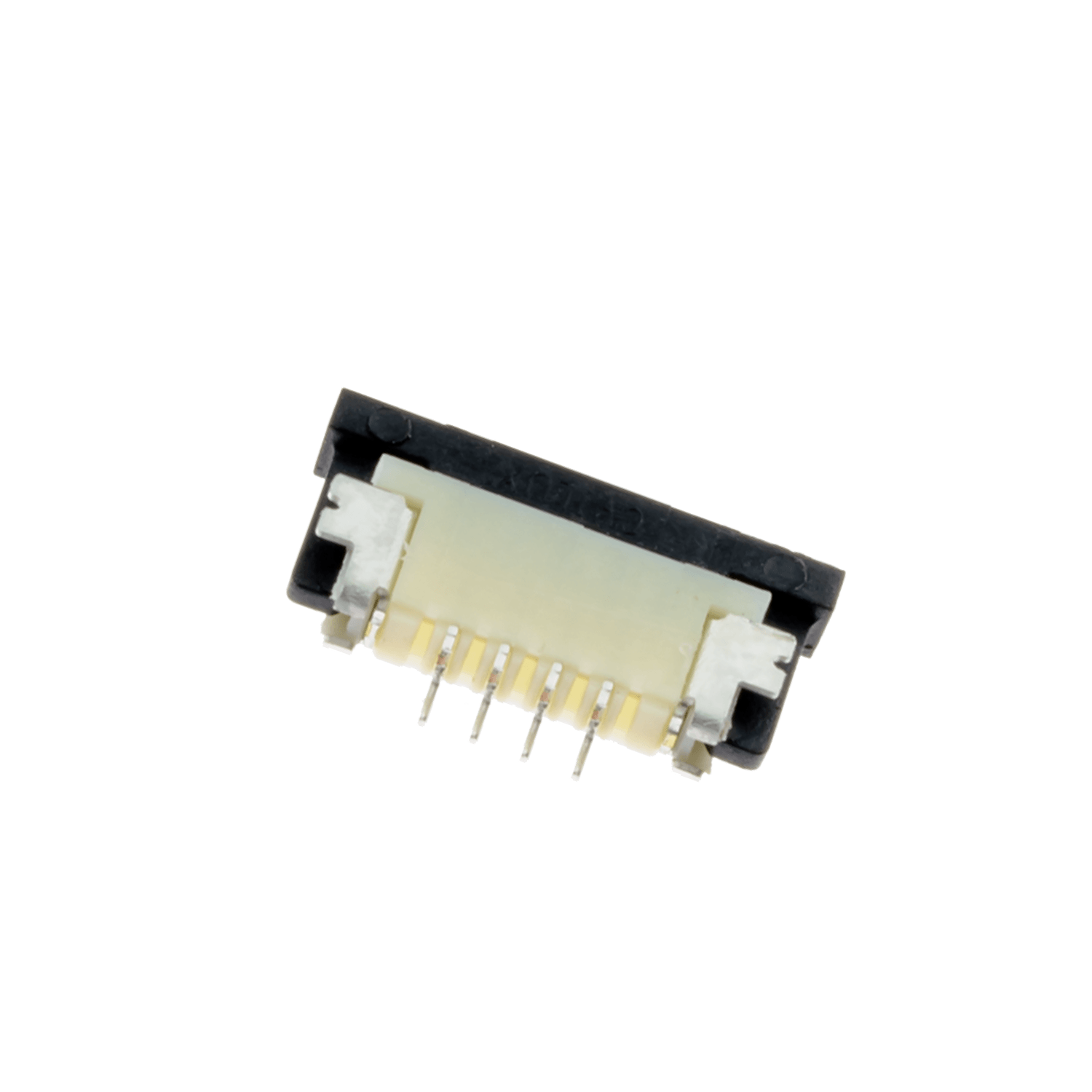 ZIF1004DH – ZIF connector, 1 mm pitch, 4 pins, downside contact