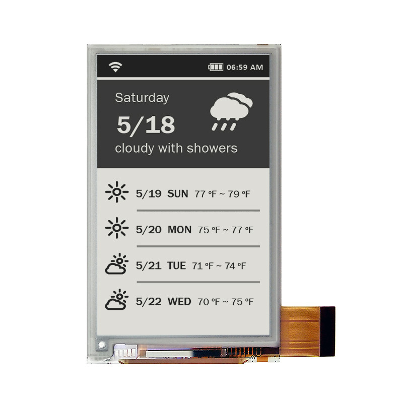 ED035OC1 - Electronic Paper  display from E Ink Co. (16 Gray Level, 3.5 , 600x360)