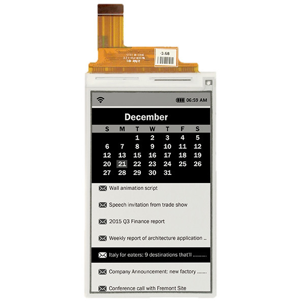 ED043WC3 - Electronic Paper  display from E Ink Co. (16 Gray Level, 4.3 , 800x480)