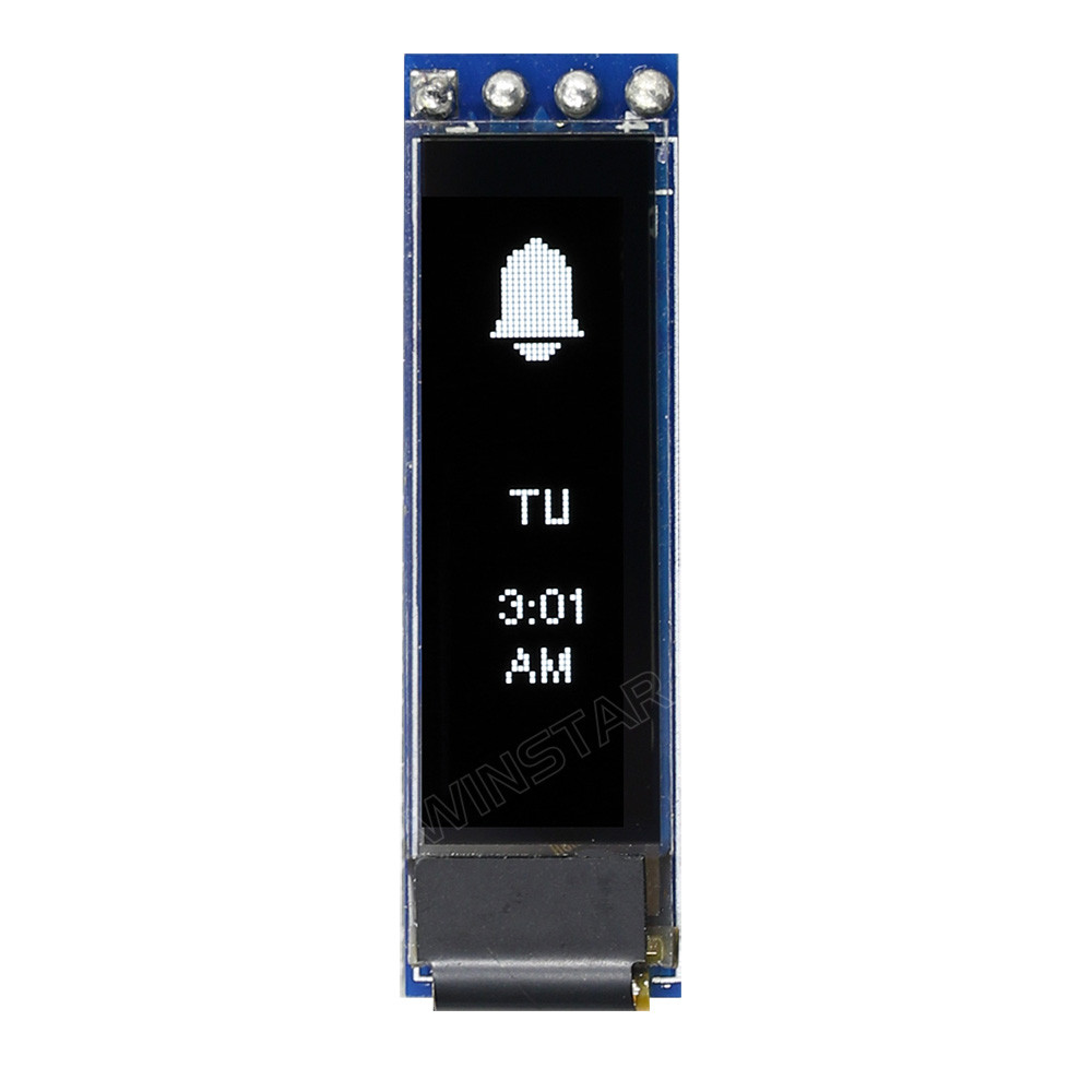 WEA009616AWPP3N00000 - Winstar Longlife OLED graphic display module (white, 96x16, COG - Chip on Glass)