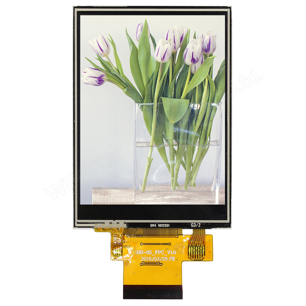 WF32CTLAJDNT0# - LCD-TFT display from Winstar Co. (3.2 inches, 240x320, ILI9341 controller, resistive touch screen)