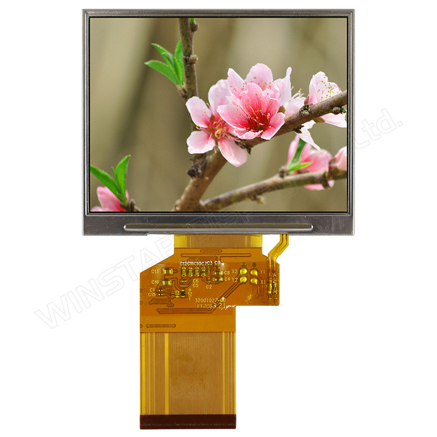 WF35LTIACDNN0# - LCD-TFT display from Winstar Co. (3.5 inches, 320x240, no controller)