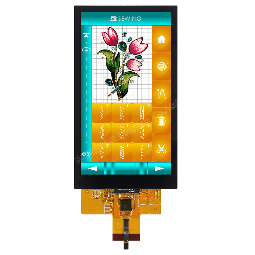 WF50DTYA3MNG10# - LCD-TFT display from Winstar Co. (5.0 inches, 720x1280, ILI9881C controller, capacitive touch screen, an IPS screen)